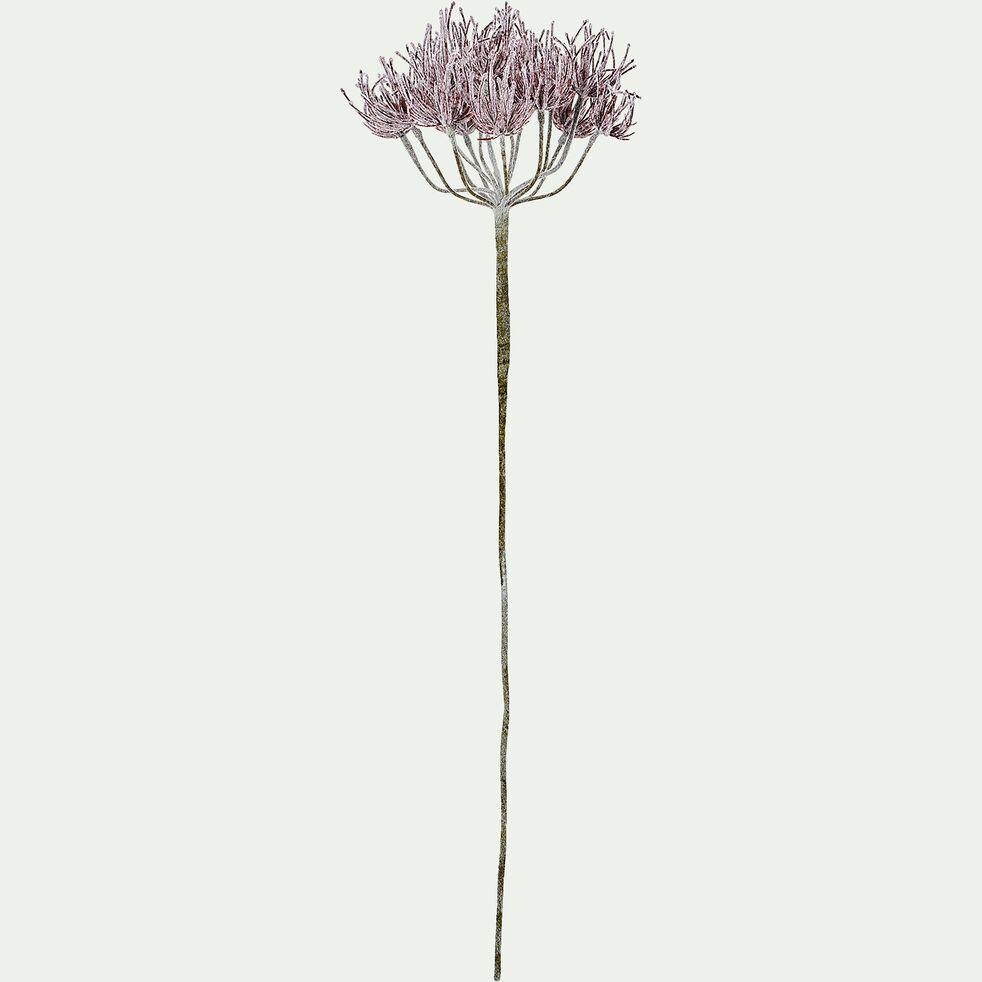 Fleur artificielle rouge givrée H85cm-DIANE