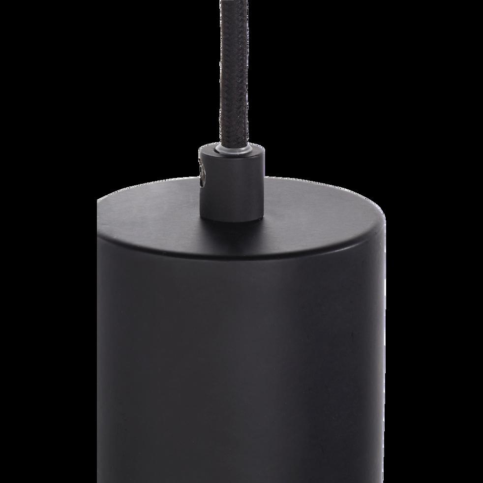 Suspension en métal noir H26,5xD15cm-ARA