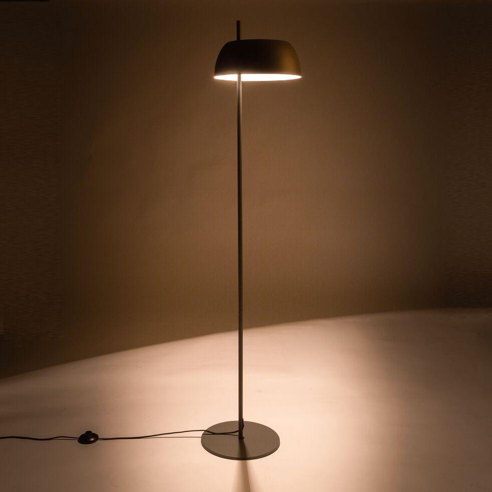 Lampadaire en métal - gris restanque H146,5cm-LOLLY