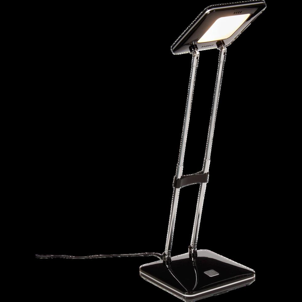 Lampe de bureau noire à LED H31cm-FANNY