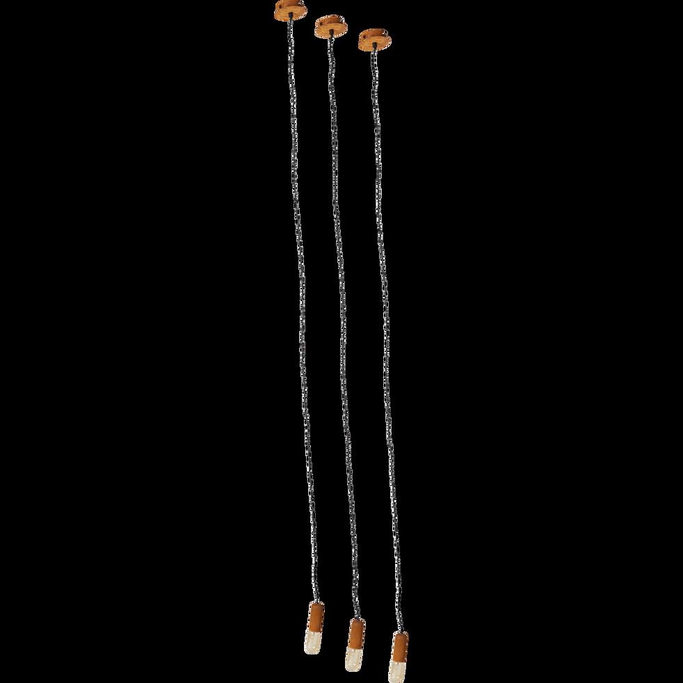Suspension décorative en métal effet rouille H151cm-DROOPY