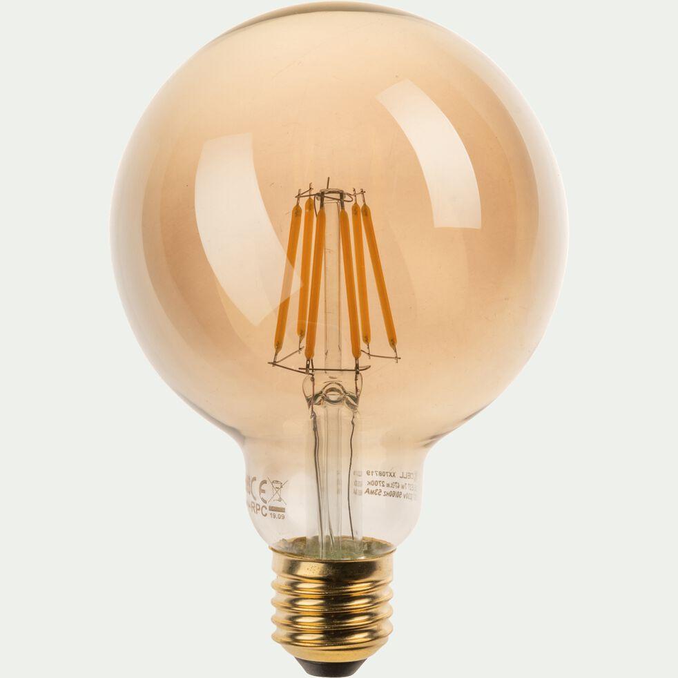Ampoule LED déco à filament standard lumière chaude - G9 3,3W D2cm ambre-STANDARD