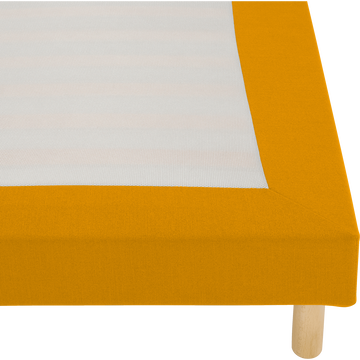 Housse pour sommier Topaze Beige nèfle - 140x200 cm-TOPAZE