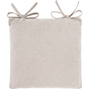 Galette de chaise carrée imprimé vert olivier 38x38cm-AMANDE
