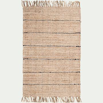 Tapis en jute - naturel 120x170cm-KEPIR