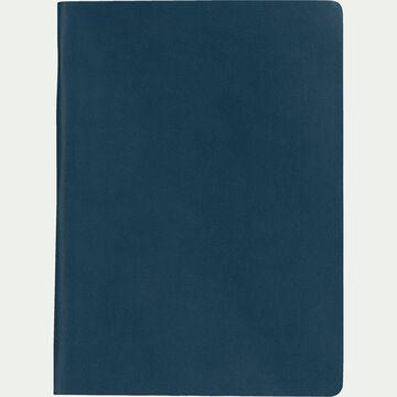 Carnet format A5 uni - bleu-Myrthos