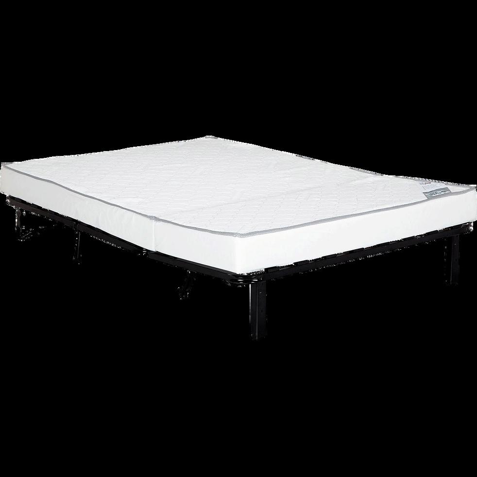 structure de bz 160cm avec matelas bultex 15cm softy canap s bz alinea. Black Bedroom Furniture Sets. Home Design Ideas