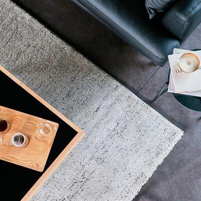 Tapis moucheté - gris clair 160x230cm-STESSY