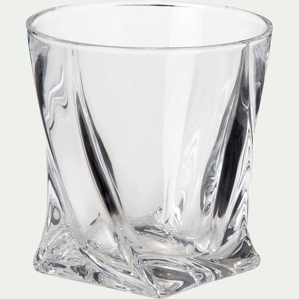 Verre à whisky en verre cristallite 34cl-Quadro