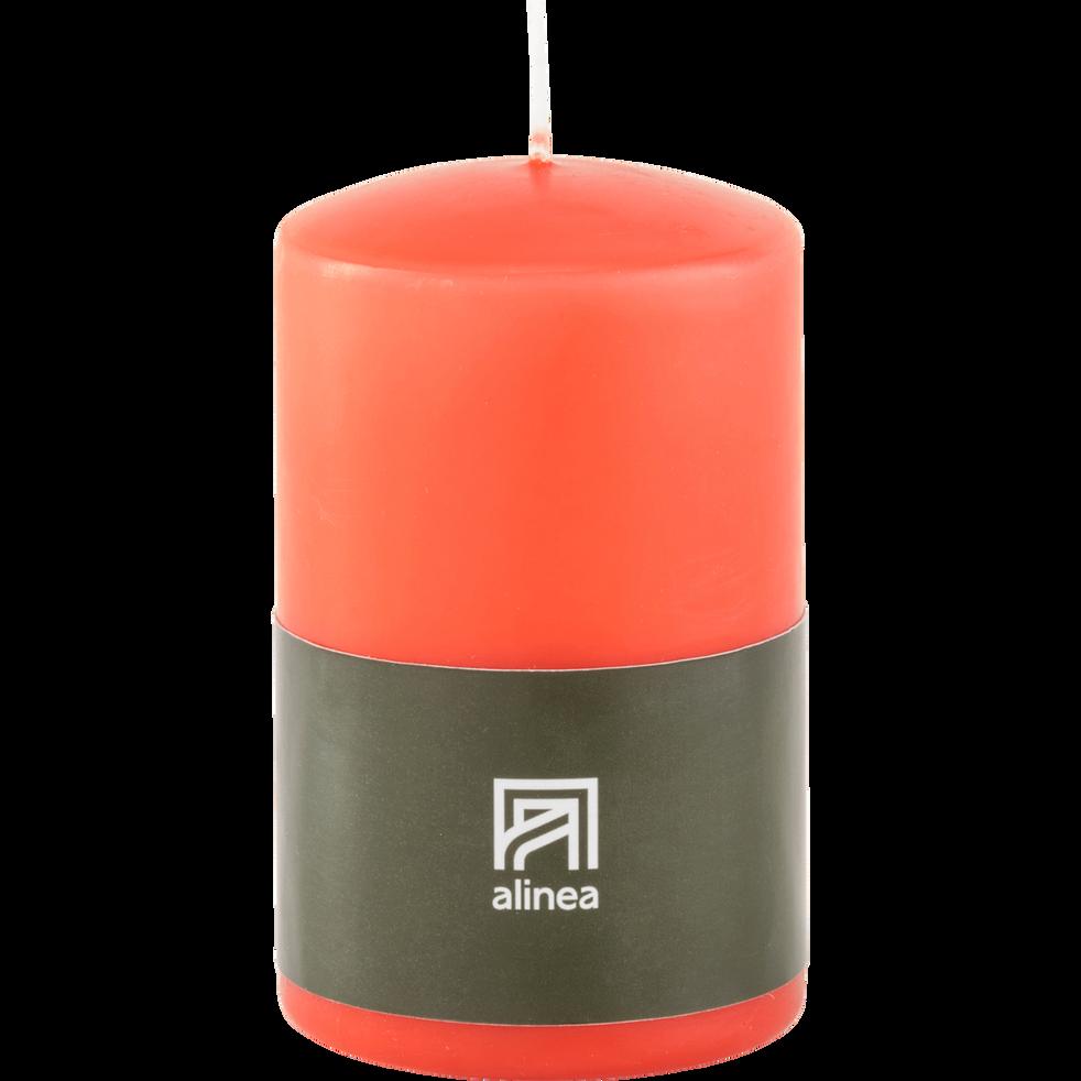 Bougie cylindrique rouge azérole-HALBA