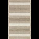 Tapis extérieur et intérieur beige 60x110cm-ELEGANCE