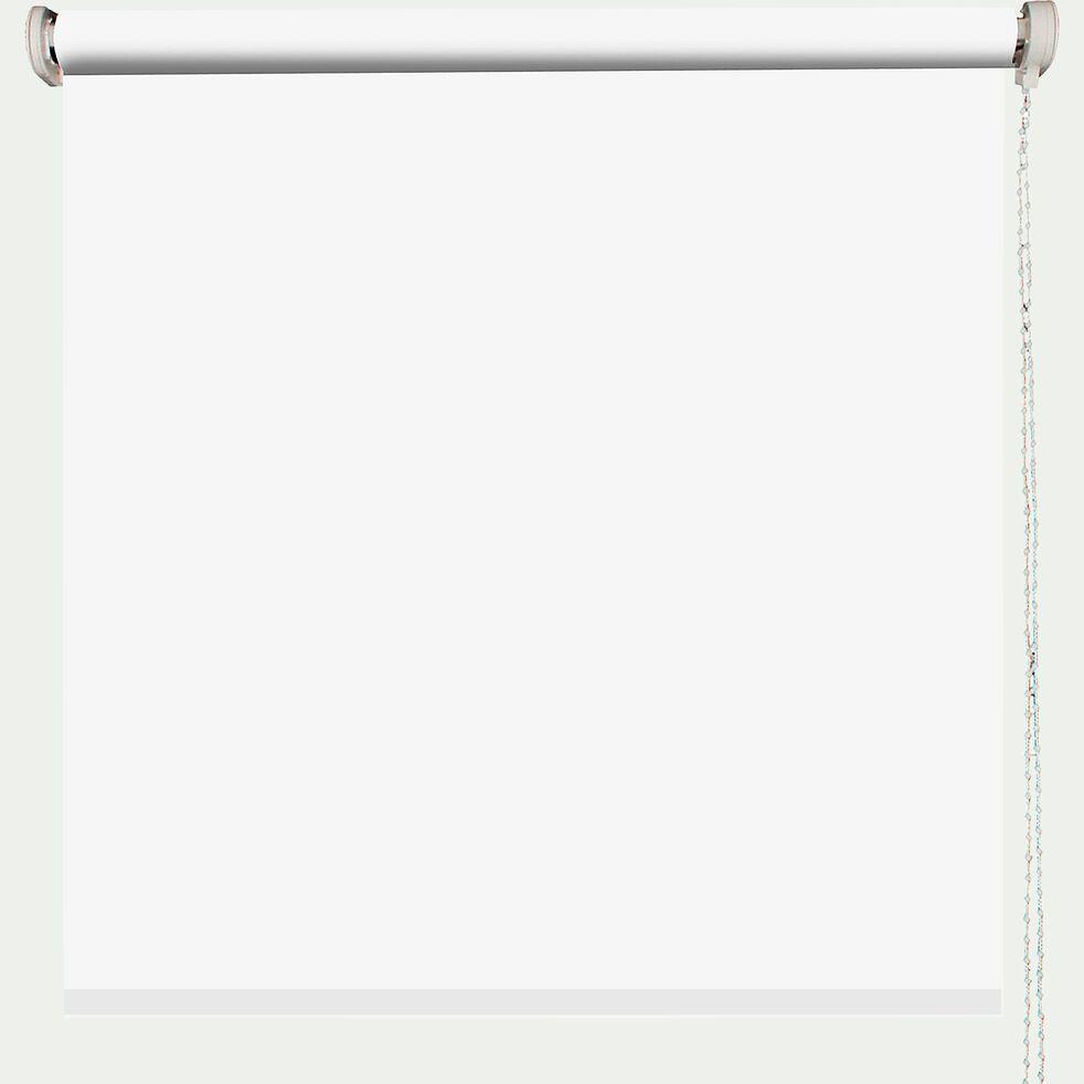 Store enrouleur occultant - blanc 90x190cm-OCCULTANT