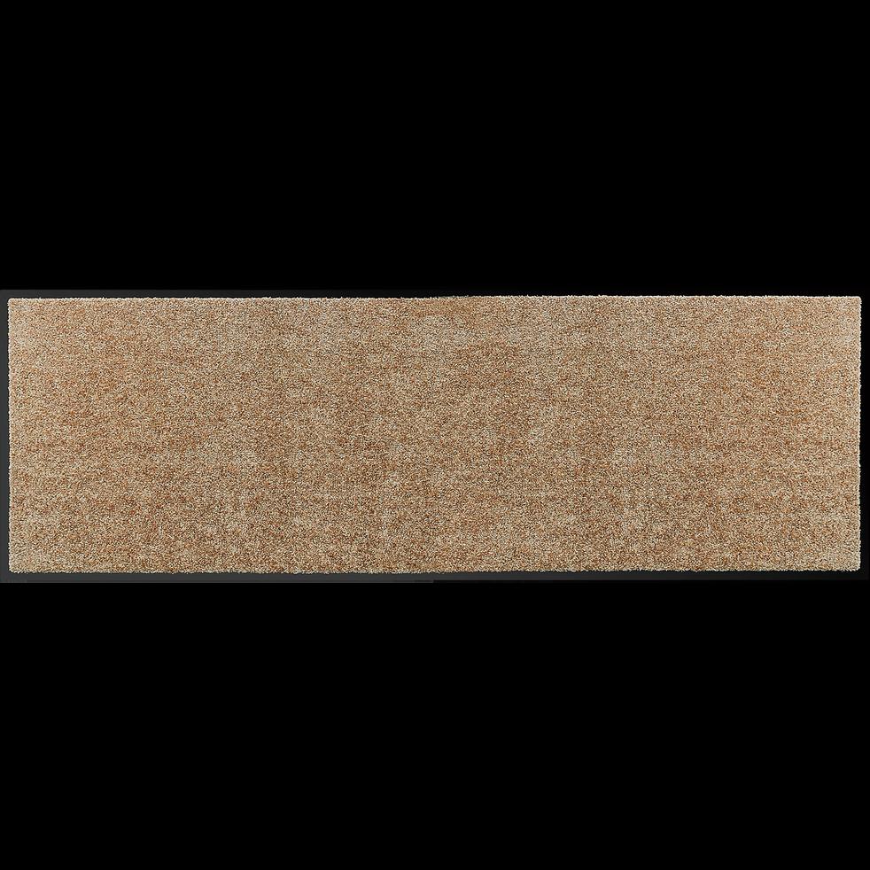 Tapis de couloir paillasson beige 60x180cm-BEN