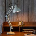 lampe en métal vert olivier h55x14cm-XXL