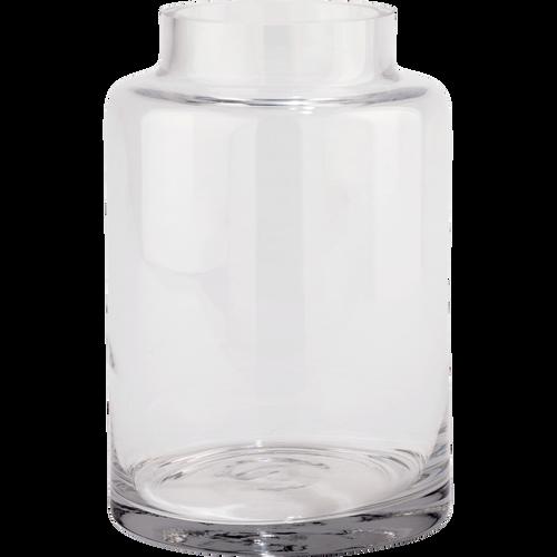 Grand Vase Transparent : grand vase en verre transparent h100cm ajja h60cm catalogue storefront alin a alinea ~ Teatrodelosmanantiales.com Idées de Décoration