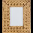 Cadre en bois naturel 23.5*28.5 cm-Inula