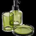 Distributeur de savon en verre vert-OSCO