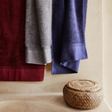 Serviette de bain 50x100cm bleu myrtre-ARROS