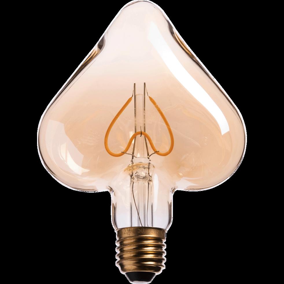 Ampoule décorative LED D15,8cm culot E27-C¿UR