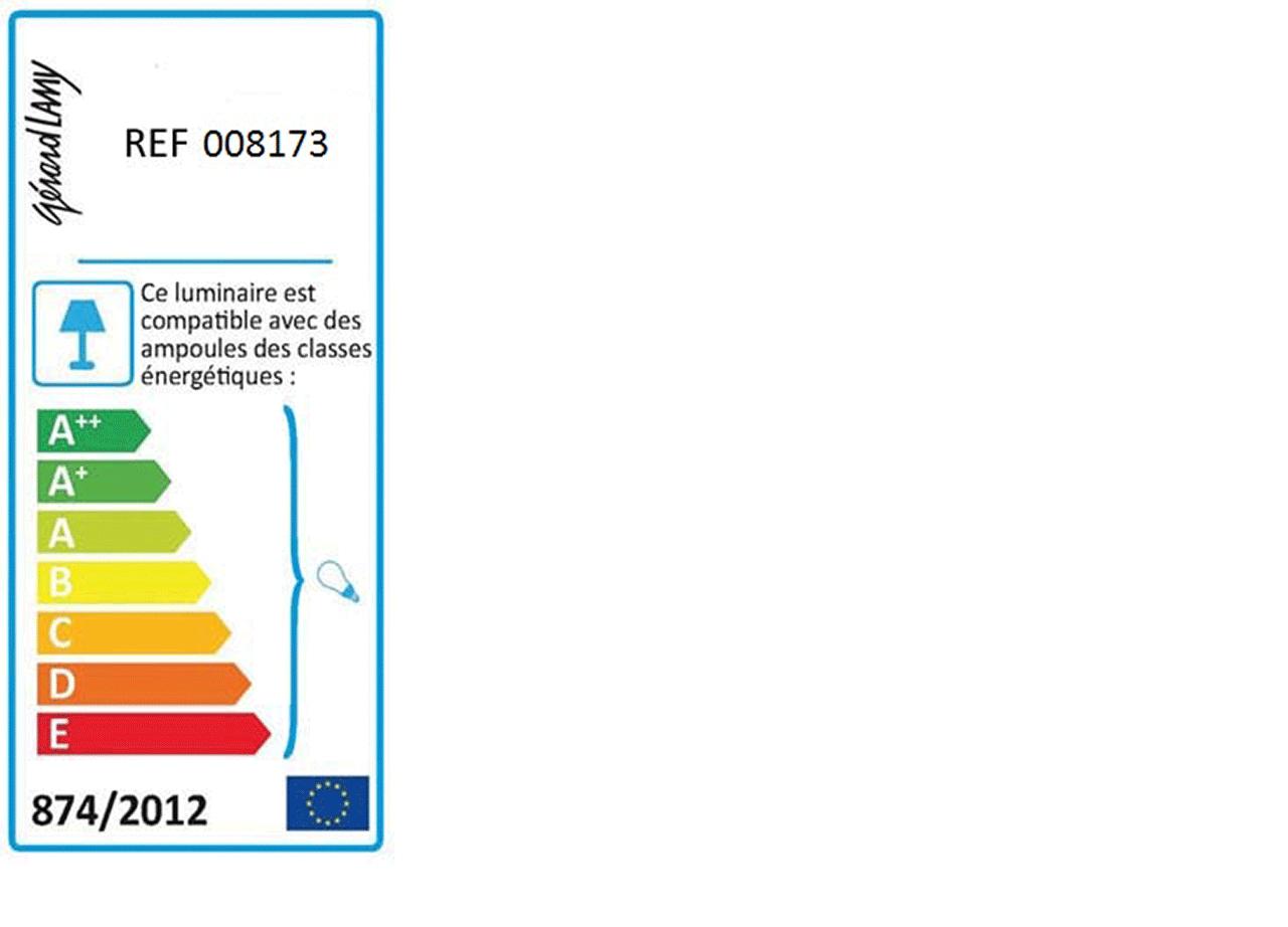 Monture électrique E27 câble transparent L60cm-CORDON