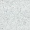 Papier peint intissé motif laurier blanc et noir 53cm x 10m-LAURIER