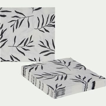 Lot de 100 serviettes en papier - motif aloyse 33x33cm-ALOYSE