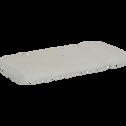 Serviette invité en coton 30x50cm blanc capelan-AZUR