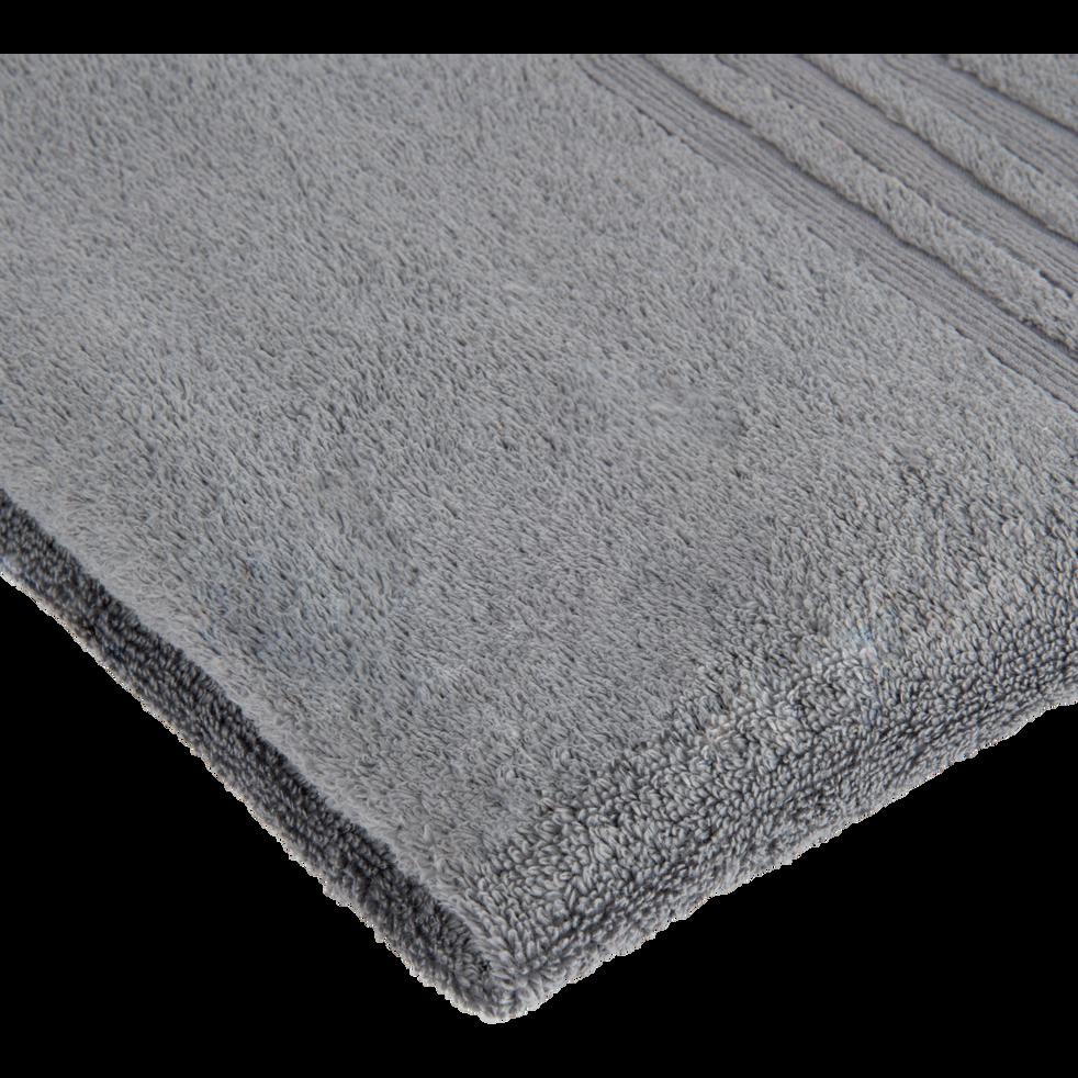 Drap de bain 100x150cm gris anthracite-NOUN
