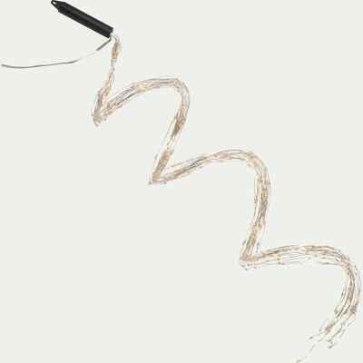 Guirlande lumineuse 100cm - 320 microLED blanc classique-VALANT
