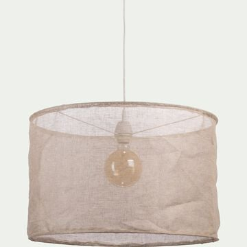 Suspension en lin naturel D60cm-ORMES