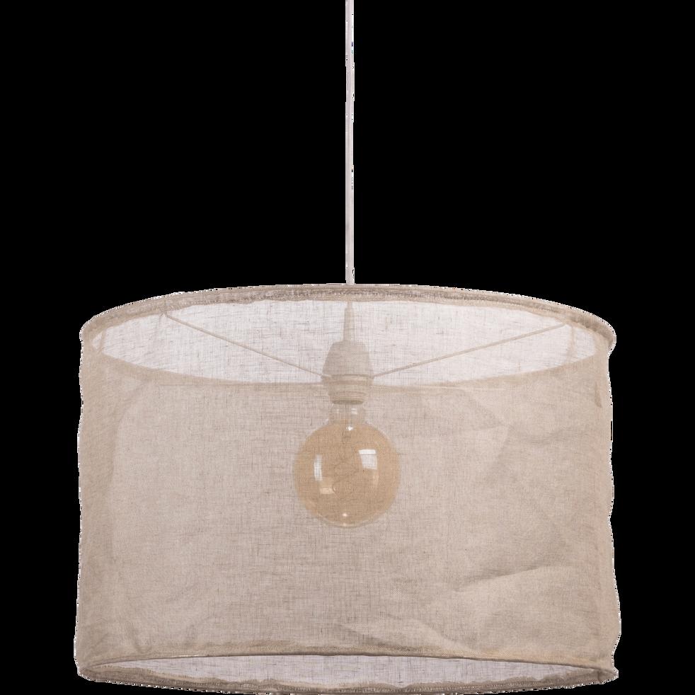 Suspension en lin naturel D60cm-ORMES