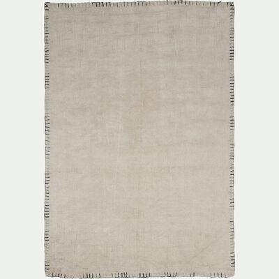 Tapis de salon - blanc cassé 160x230cm-NONZA