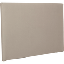 Structure de tête de lit Blanc - pour lit L140 cm et L160 cm-TOPAZE