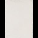 Tapis imitation fourrure blanc ventoux-ROBIN
