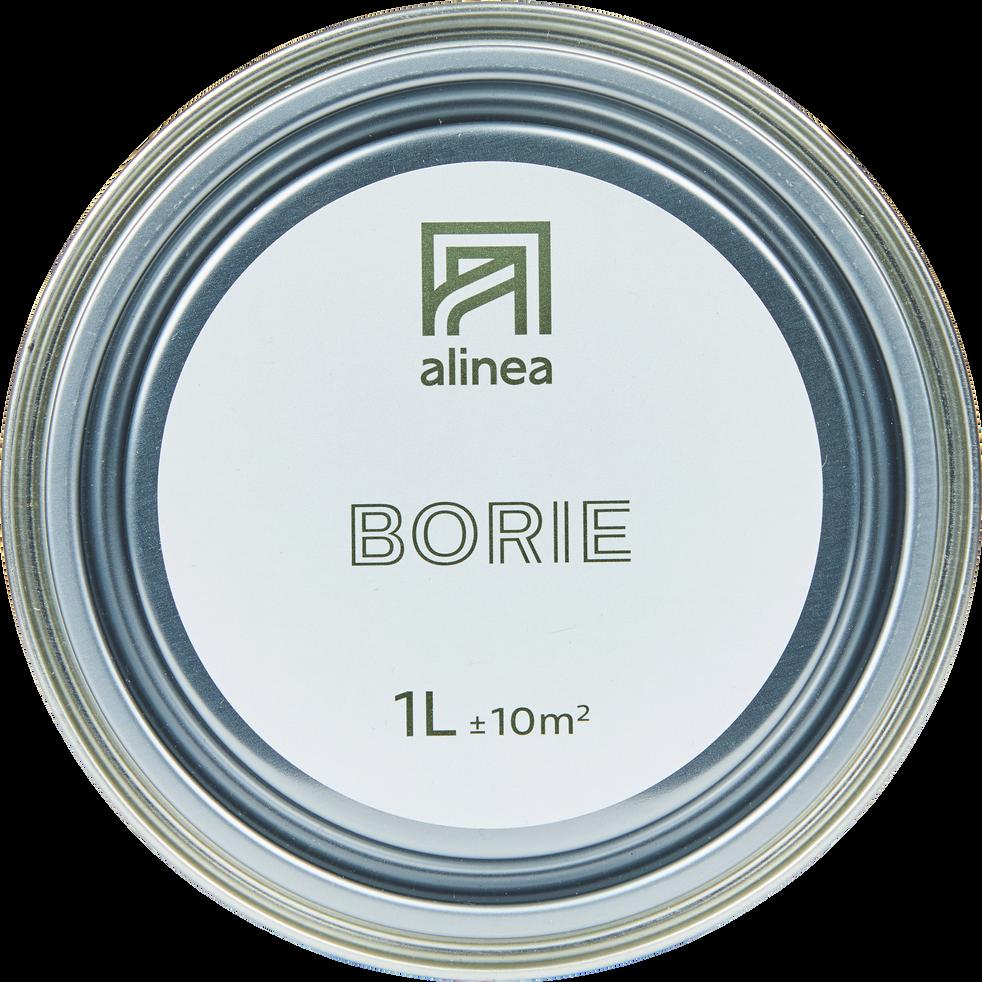 Peinture acrylique mate multi-supports 1L gris borie-PEINTURE