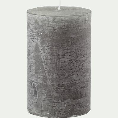 Bougie cylindrique - vert cèdre H11cm-BEJAIA