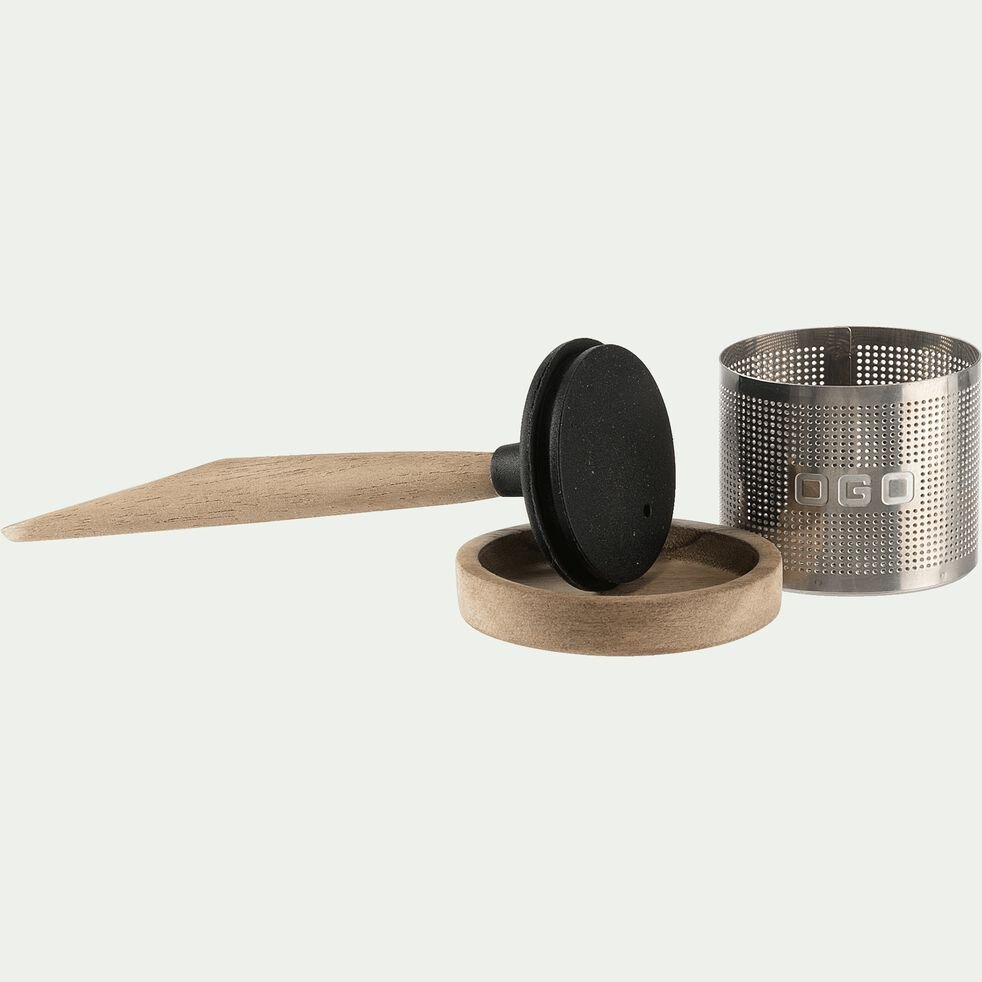 Infuseur à thé en acier inoxydable-OSCAR