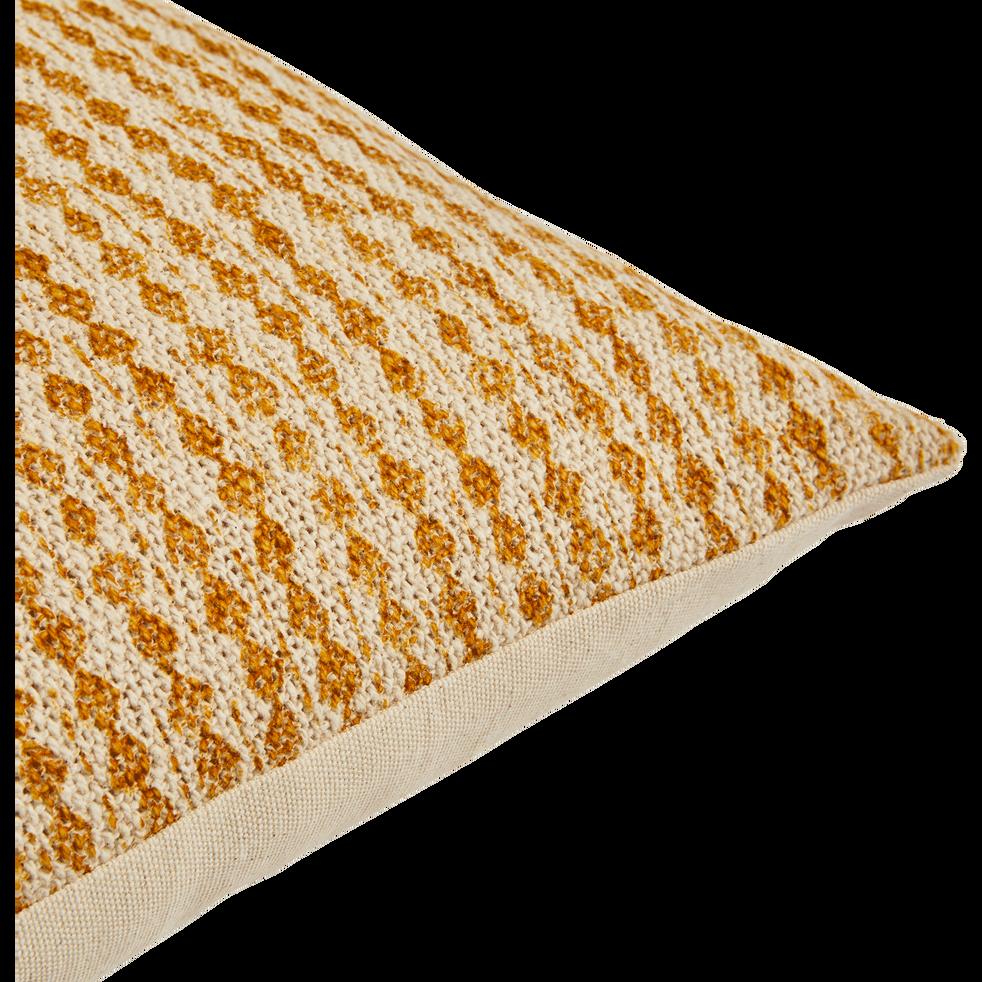 coussin en coton à motifs beige nèfle 30x50 cm-BARRAS
