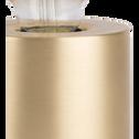 Lampe à poser sensitive dorée H12,5xD9cm-PRAO