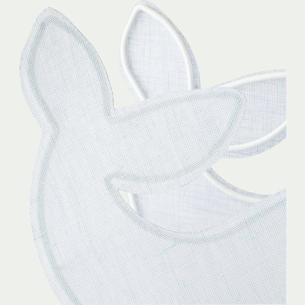 Lampe à poser forme baleine l22cm - bleu-Jonas