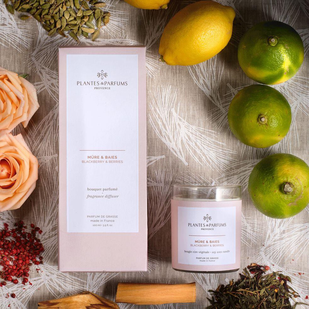 Bougie parfumée senteur Mûres et Baies 180g-MANON