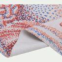 Tapis en coton tissé plat imprimé algues marines - multicolore 120x180cm-Récif