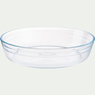 Moule à manqué en verre borosilicate D23cm-AZET