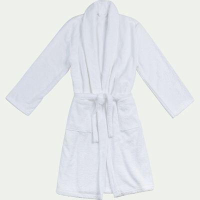 Peignoir en coton et polyester - blanc optique L/XL-AZUR