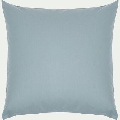 Lot de 2 taies d'oreiller en coton - bleu calaluna 65x65cm-CALANQUES