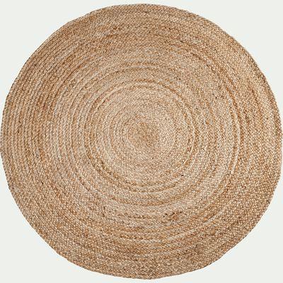 Tapis rond en jute - naturel D90cm-RUSH