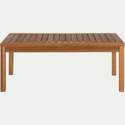 Table basse de jardin en acacia - naturel-ISSANBRES