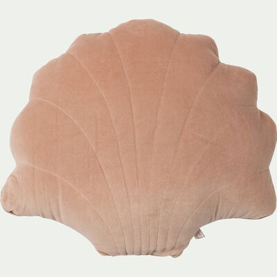 Coussin coquillage 45x50cm - rose-Bigaro