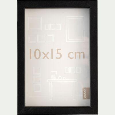 Cadre photo en bois - 10x15cm noir-HAPA