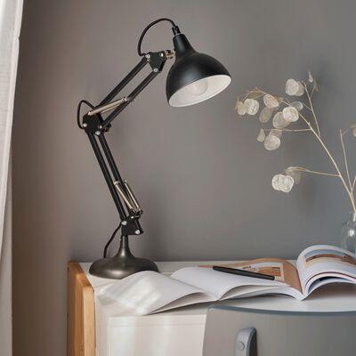 Lampe en métal - noir H55x12cm-XXL